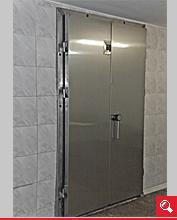 http://www.matchyra.pl-drzwi chłodnicze nierdzewne zawiasowe dwuskrzydłowe ZC-2 pod tor kolejki
