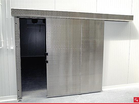 http://www.matchyra.pl-drzwi do mroźni przesuwne CP-1 ze stali nierdzewnej mazerowanej