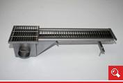 http://www.matchyra.pl - nierdzewny kanał odwadniający z pokrywą ażurową jednostronny  – 5001.009 z kratką