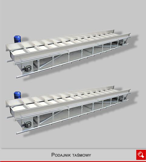 http://www.matchyra.pl- podajnik taśmowy, przenosnik transportowy,stół transportujący z tasmą, poziomy
